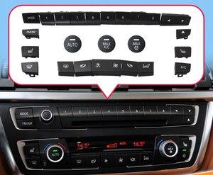 Dla BMW serii 3 F35 318 klimatyzator przycisk płyta Audio CD cyfrowe pokrętło przełącznika ogrzewania siedzenia