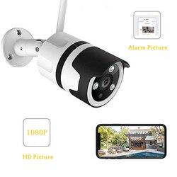 Wdskivi mini hd 1080 p à prova dwaterproof água ao ar livre câmera ip p2p wi fi câmera de segurança bala cctv câmera de vigilância metal escudo onvif
