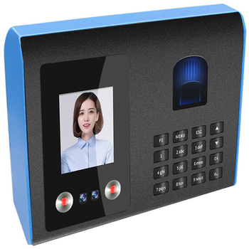 fingerprint attendance machine punch card machine with passwor facial face recognition device support for multiple languages hot