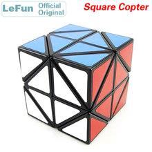 LeFun Square Copter Magic Cube 2x2 Speed Twisty Puzzle Brain Teasers Challenging Intelligence Educational Toys For Children