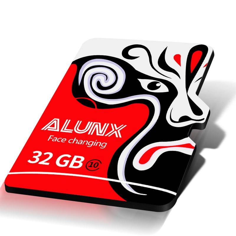 ALUNX Micro Sd 128gb Memory Card  32GB 64GB 256GB SDXC SDHC  80M CLASSS 10-U1 U3 V10 4K Microsd Flash TF Card Gift Adapter