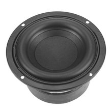 4 Inch 40W Round Subwoofer Speaker Woofer High Power BASS Home Theater 2.1 Subwoofer Unit 2 Crossover Loudspeakers