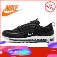 Оригинальный Официальный Nike Air Max 97 Мужская дышащая обувь для бега спортивные кроссовки мужские теннисные классические дышащие низкие клас...