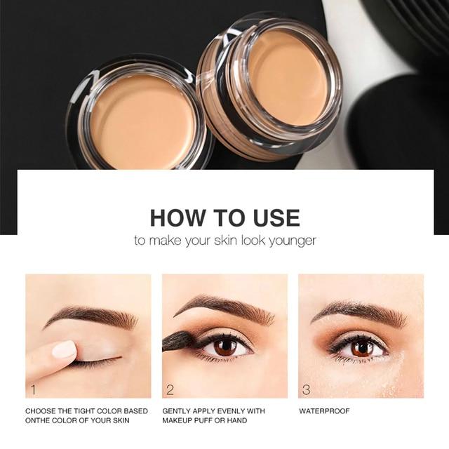 O.TWO.O eye primer Concealer Base eyeshadow primer Long Lasting eyes Concealer Moisturizer Oil Control make up cosmetic TSLM1 4