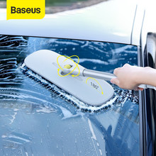 Baseus szczotka do mycia samochodu zdejmowana regulowana podkładka Mop do samochodu domowe sprzęty czyszczące detale samochodów akcesoria do szczotek