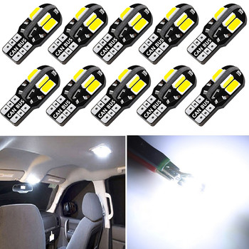 10PCS W5W T10 LED Bulb Car Wedge Side Marker Light Canbus For BMW E90 E60 E87 E46 Mercedes Benz W212 W211 AMG Ford Focus 2 3 MK5 image