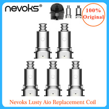 Nevoks Lusty Aio Replacement Coil for pod kit sub ohm/MTL Vaping vape accessories electronic cigarette coil
