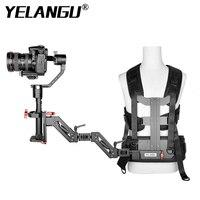 YELANGU 3 assi Gimbal Gear Support Vest molla braccio stabilizzazione sistema di montaggio del corpo videocamera per videocamere cinema