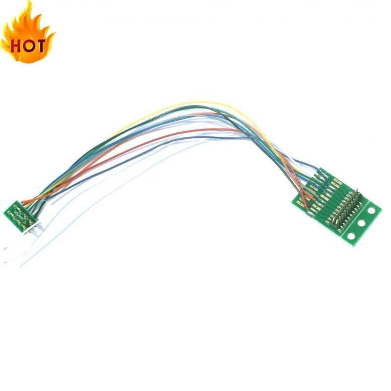 860046 21PIN/21MTC для 8PIN/NEM652 жгут для адаптера переменного тока с Динамик провода ДКК модель железнодорожной железной дороги/бренд