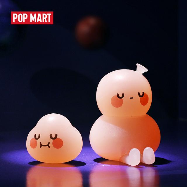 Hermoso Juguete POPMART BOBO y COCO de la serie Basic, para regalo de cumpleaños