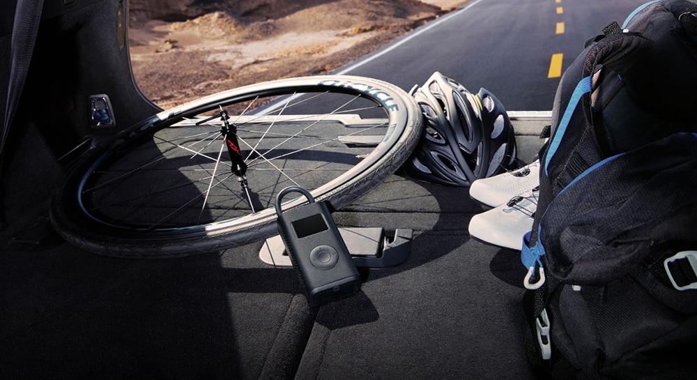 Xiaomi Mijia Portable Electric Pump Air Compressor 1S Smart Digital Tire Sensor Mi Inflatable Treasure for Motorcycle Car Soccer|Smart Remote Control| - AliExpress