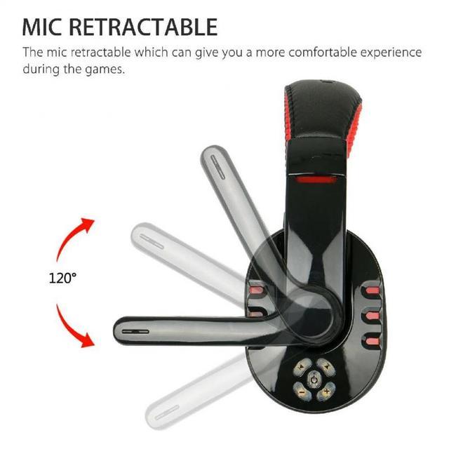 High Quality Gaming Headset Wireless Headphones PC 5
