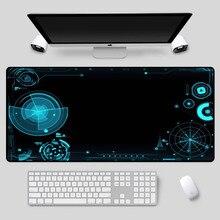 XGZ большой размер красивый коврик для мыши технологии узором в виде таблицы высокого качества клавиатура подходит для csgo дота2