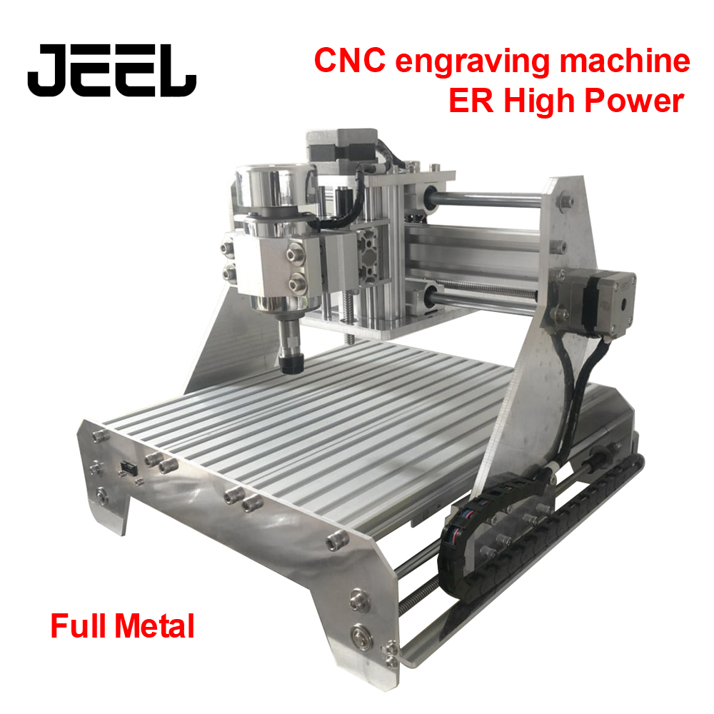 CNC Engraving Machine Full Metal ER High Power Spindle Small Electric CNC Automatic Offline Metal Cutting Machine