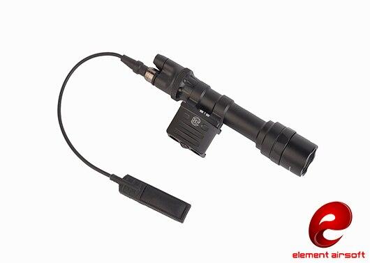 Element Airsoft Surefir Weapon Light M612 Ultra Superbright 350 LM Light Hunting Lamp Tactical Flashlight EX444