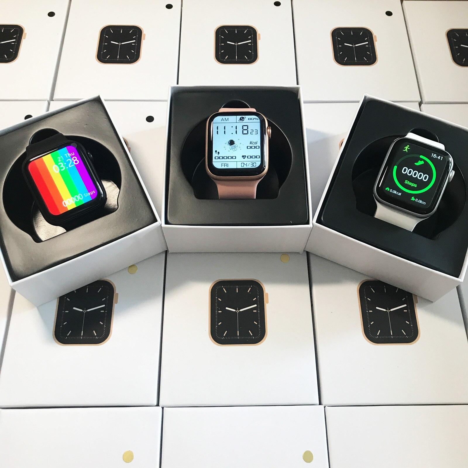 TREZER IWO W26 Pro Smart Watch 1 75 Inch 320 385 Series 6 IPS Full Touch TREZER IWO W26+ Pro Smart Watch 1.75 Inch 320*385 Series 6 IPS Full Touch Screen Custom Watch Face Smartwatch Men Women PK HW22