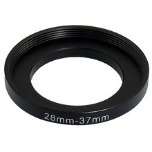 28mm-37mm 28mm to 37mm Black Step up Ring Adapter for Camera(China)