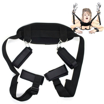 Handcuffs & Ankle Cuffs BDSM Bondage Restraint Bondage Fetish Slave Adult Games Erotic Sex Toys For Woman Couples Sex Products sexual toys sex handcuffs ankle cuffs bondage set sex toys for couples erotic womens roleplay exotic accessories