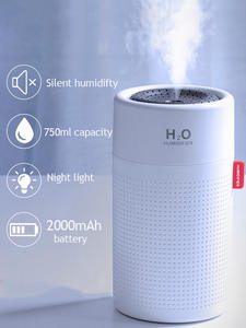 Aroma Diffuser Air-Humidifier Essential-Oil Portbale 2000mah-Battery Rechargeable Wireless