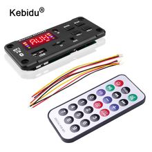 Módulo MP3 de 5V, WMA placa decodificadora de MP3, gran pantalla a Color, 12V, inalámbrico, Bluetooth 5,0, módulo de Audio, USB, TF, Radio para grabación de coche