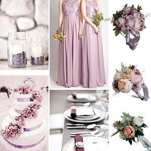 Image 3 - Europäischen Vintage Braut Hochzeit Bouquet Künstliche Staubigen Pfingstrose Blumen Gefälschte Sukkulente Spitze Band Brautjungfer Party Decor