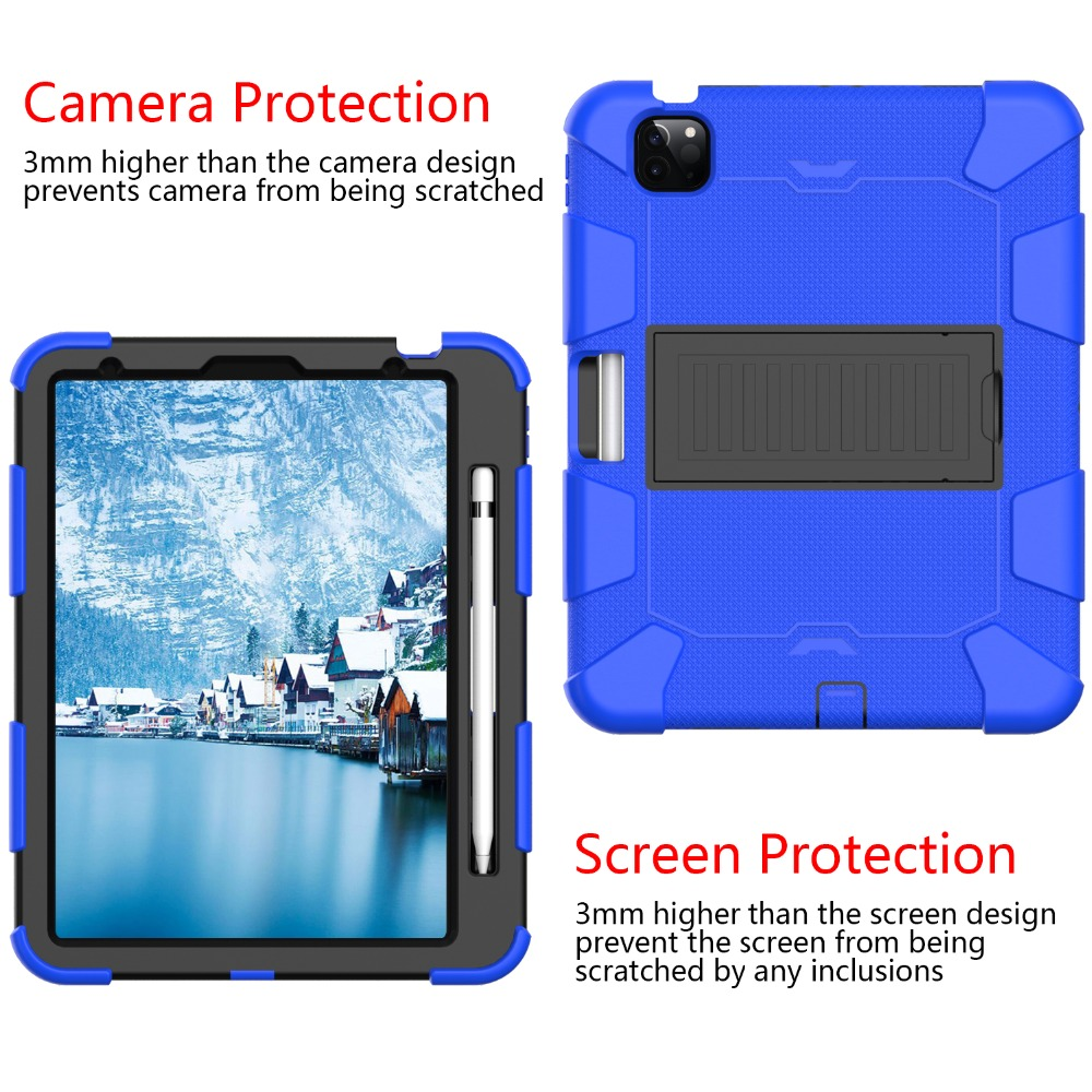 Kids Tablet 10.9 Duty Shockproof inch 4 Heavy for PC Hybird 2020 Case iPad Rugged Air