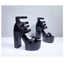 sandals for women 2020 gladiator platform summer roman punk shoes YMB117-1