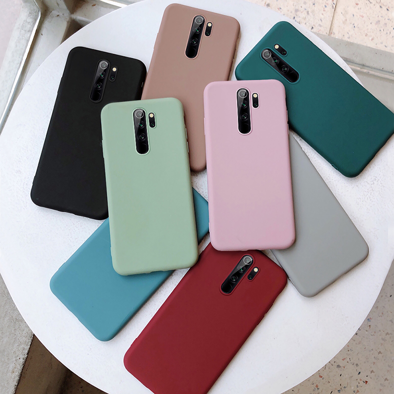 case for xiaomi redmi note 8 9 pro max 9s 8t 7 4x 7a mi a3 cc9 9t 8 9 10 lite a2 a1 pocophone f1 cover coque funda etui caps(China)