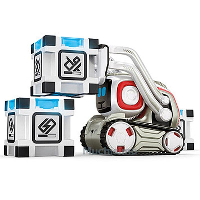 Robot Cozmo juguetes de alta tecnología Robot Cozmo Inteligencia Artificial voz familia interacción educación temprana niños Robot de juguete inteligente - 6
