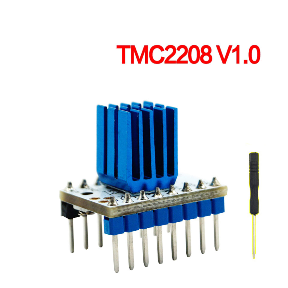 3D Printer TMC2208 / DRV8825 Stepping Motor Driving Module Segments Mute 256/32