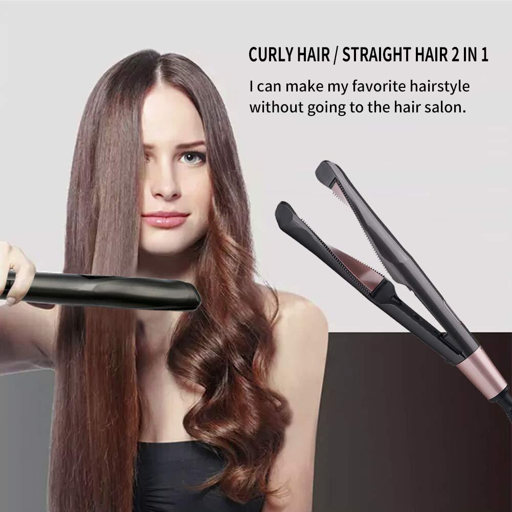 Profissional modelador de cabelo torção alisamento curling
