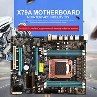 Desktop Computer Large Motherboard 2011 Pin Supports LGA2011 CPU Interface Motherboard With Dual Indicator Design