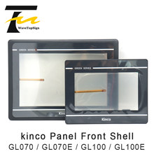 Kinco gl070 gl070e gl100 gl100e hmi frente escudo acessórios do painel da tela de toque