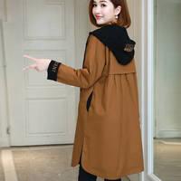 Casual Women Mid Long trench 2019 New Spring Korean Style Oversize Windbreaker Female pullover Coat