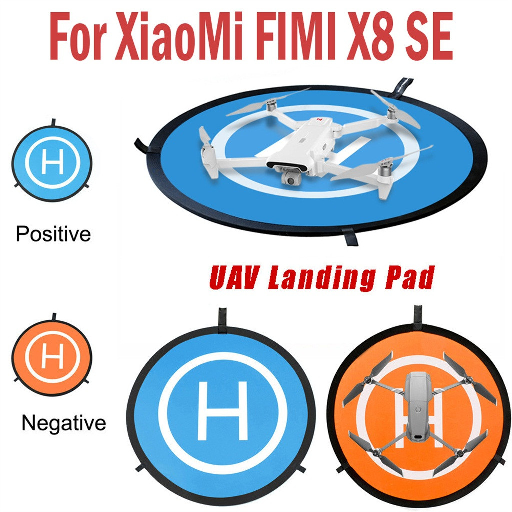 Portable UAV Landing Mat Fast-fold 75cm Landing Pad Apron For XiaoMi FIMI X8 SE Drone Quadcopter Children Kids Toys 2019