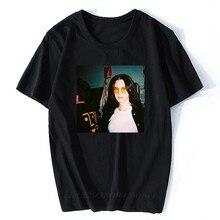 Lana Del Rey camicia Casual Casual con stampa lettere per uomo bianco Top o-collo di alta qualità uomo/donna estate t-shirt Vintage taglie forti