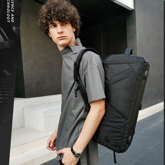 Bange Multifunction Large Capacity Men Travel Bag Waterproof Duffle Bag for Travel Backpack Hand Luggage Bags with Shoe Pouch 4