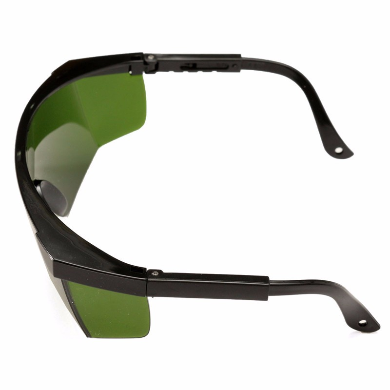 Dark Green OD4 + Laser Safety Goggles Glasses Protective Eyewear 200-540nm/532nm & Glasses Box Wholesale Price