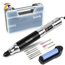Tungfull ferramenta de broca sem fio dremel mini broca nova mini ferramentas elétricas broca gravador caneta elétrica diy corte