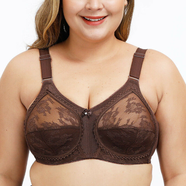 Plus Size Wireless Minimizer Bra