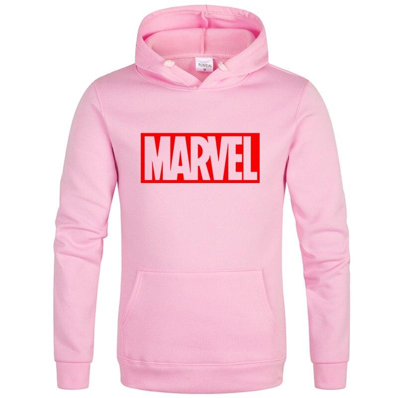 The New Brand Marvel Hoodies Men High Quality Long Sleeves Casual Men Sweatshirt Hoodies Marvel Print Hoodie Tracksuits Male