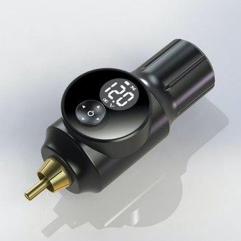 Новый Беспроводной татуировки Батарея Питание RCA разъем для Татуировка Машин