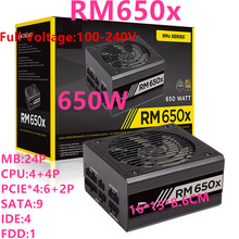 PSU Power-Supply Corsair 650W ATX Full-Module 80plus Gold Silent New for Brand Rm650x