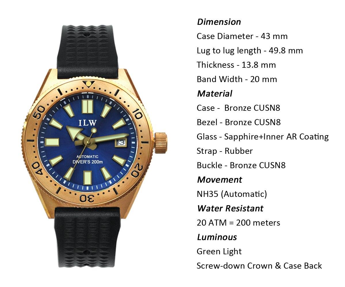 Cronos relógio homem movimento mecânico safira cristal