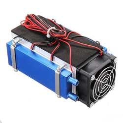 DIY 12V 420W 6-чип полупроводниковое охлаждение охлаждающее устройство Термоэлектрический охладитель воздуха кондиционирования высокая эффект...