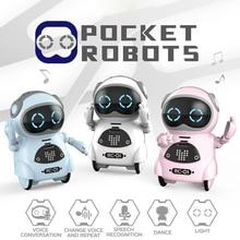Multi-Function Children Cute Intelligent Robot Voice Recognition Singing Dancing Light Children Very Good Friends