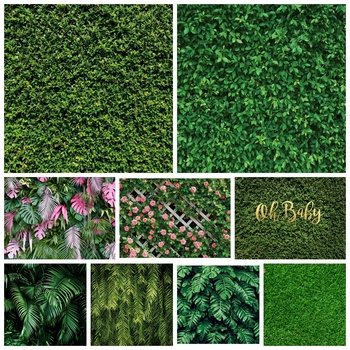 Yeele Grass Foliage Green Screen Chroma Key Scene Personalized Photographic Backdrops Photography Backgrounds For Photo Studio kate photography backdrops smart watch wearable devices green screen chromakey backgrounds for photo studio