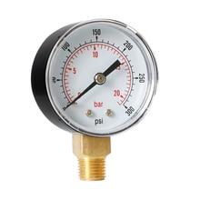 Radial Pressure Gauge Household Measurement Dial Pneumatic Hydraulic Air 6 Different Ranges
