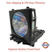 Inmoul Calidad A + y 95% de brillo de proyector lámpara DT00661 para HITACHI HDP-J52 PJ-TX100W PJ-TX300 PJ-TX100