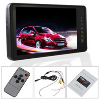 9 Inch HD 800 x 480 Ultra Big LCD Widescreen Car Rear View Mirror Monitor Rearview Parking Monitor with Touch Button